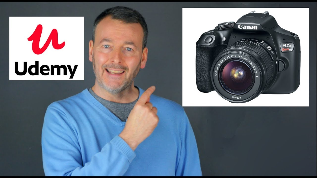 Udemy Canon 1300d Rebel T6 Dslr Tutorial Course Master Your Canon 1300d T6 Camera Youtube Youtube