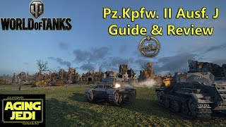 World of Tanks - Pz.Kpfw. II Ausf. J Guide & Review + Ace Tanker & Kolobanovs Gameplay