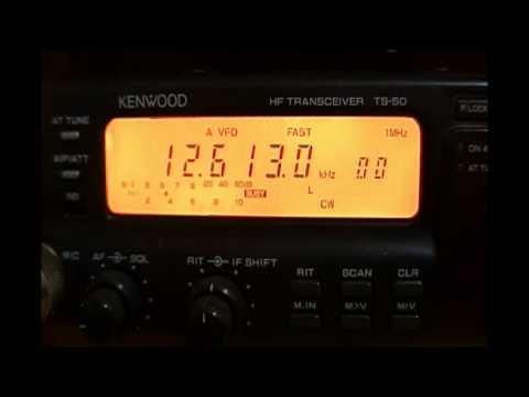 XSQ Guangzhou Radio (China) - 12613 kHz (CW)