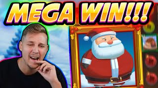 MEGA WIN!!! FAT SANTA BIG WIN - Casino game from CasinoDaddy Live Stream