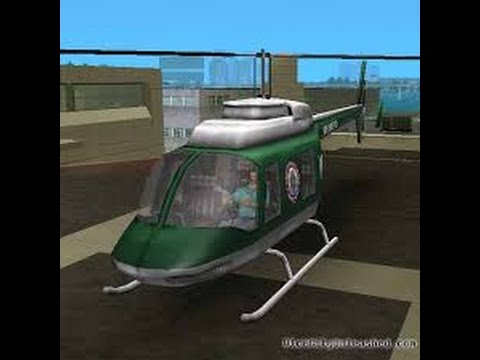 How To Get Police Helicopter In Gta Vice City