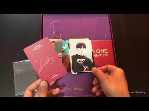 UNBOXING ♡ Wanna One Premier Fan-Con [DVD]