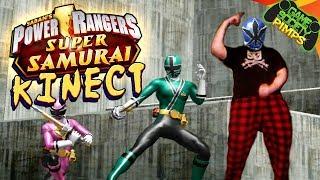 KINECT TORTURE - Power Rangers Super Samurai
