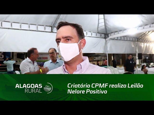 Criatório CPMF realiza Leilão Nelore Positivo