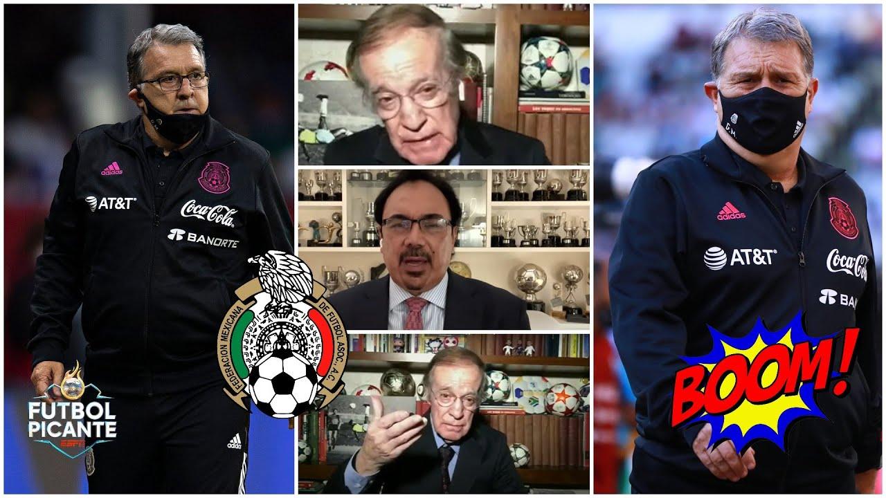 MÉXICO se recompuso tras decepcionante partido vs Canadá. Tata Martino autocrítico