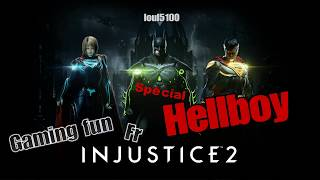 Gameplay / Découverte injustice 2 Hellboy fr ps4