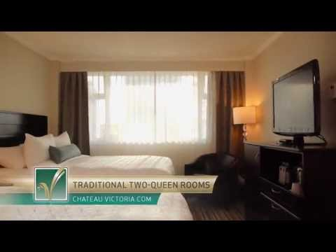 Traditional Hotel Rooms, Victoria BC, Chateau Victoria Hotel