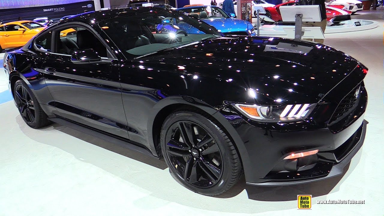 2017 Ford Mustang Premium Exterior And Interior Walkaround Ny Auto Show