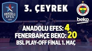 Gambar cover Anadolu Efes - Fenerbahçe Beko Final Serisi İlk Maç 3. Çeyrek (Tüm Basketler)