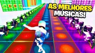 Top 10 Melhores Músicas feitas nos Blocos Musicais em Fortnite!