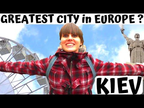 KIEV, Ukraine: Europe's GREATEST City? UA - KYiV