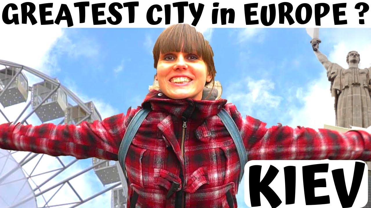 KIEV, Ukraine: Europe's GREATEST metropolis? UA – KYiV