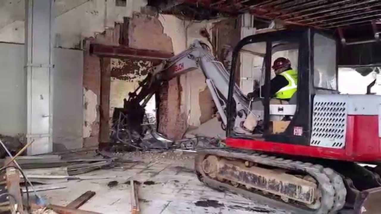 Perfect 20150116 110318 2015 01 16 Olympia Building Interior Demolition Atlanta  Five Points