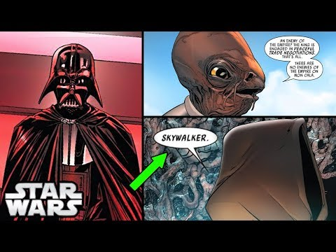 Darth Vader and The JEDI WHO KNOWS HE IS ANAKIN CANON  Star Wars Comics Explained