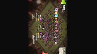 Clash of clans Clan wars SPARTACUS vs kings wolf
