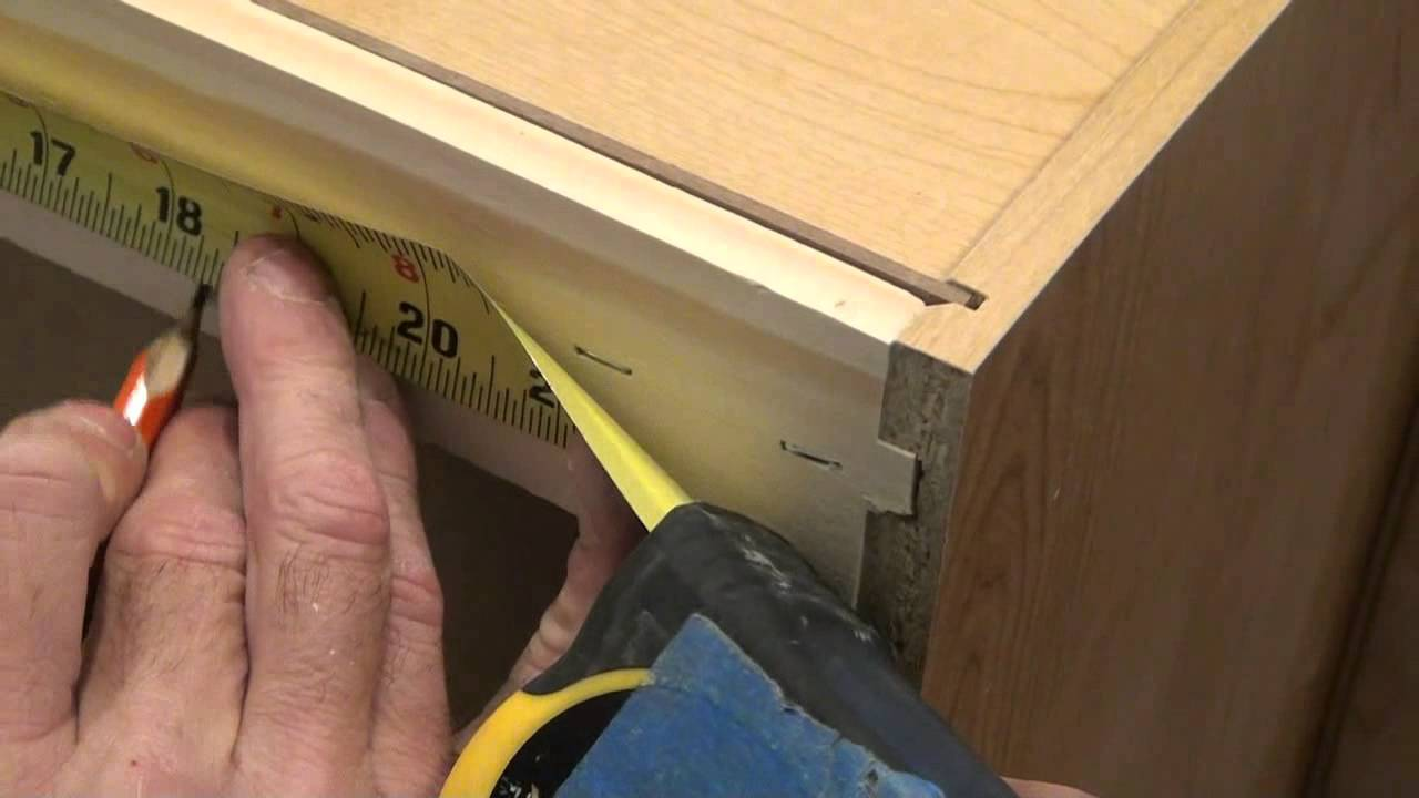 Wall Cabinet Mounting Techniques   YouTube