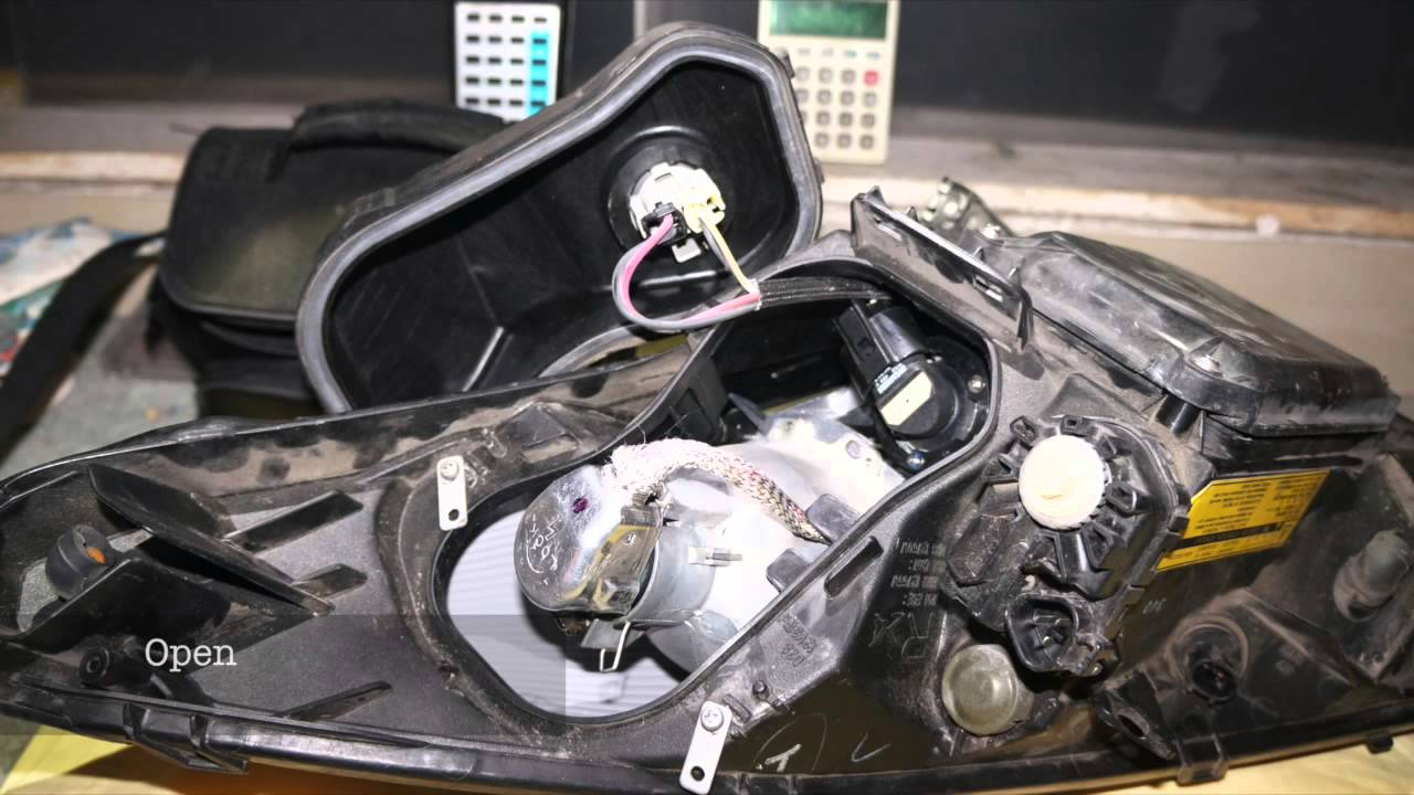 Toyota Celica Oem Hid Bulb Amp Ballast Replacement 00 Youtube