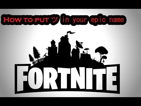 How To Put Slanted Smiley Face Into Epic Username-(Fortnite)
