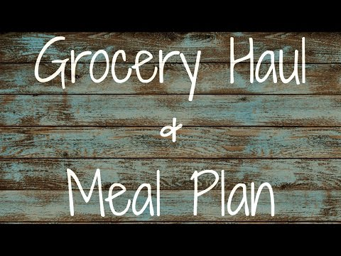 Repeat Aldi Grocery Haul & Meal Plan 2 15 16 by Bored or