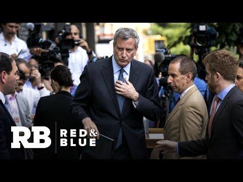 NYC Mayor Bill de Blasio visits New Hampshire, sparking 2020 speculation