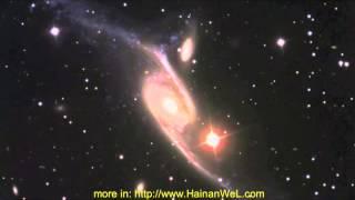 NGC 6872  is a largest spiral galaxy in Universe  Самая большая спиральная галактику NGC 6872