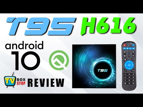 T95 Allwinner H616 Mali G31 Android 10 6K TV Box Review