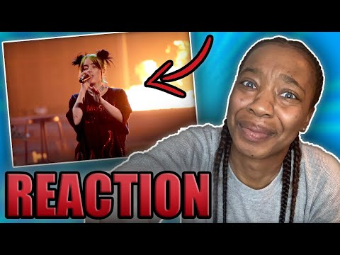 "REACTION To Billie Eilish ""All The Good Girls Go To Hell"" Live At The 2019 American Music Awards"