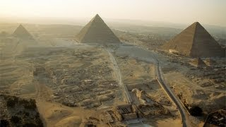 Die Pyramiden von Gizeh wurden nicht von Altägyptern erbaut