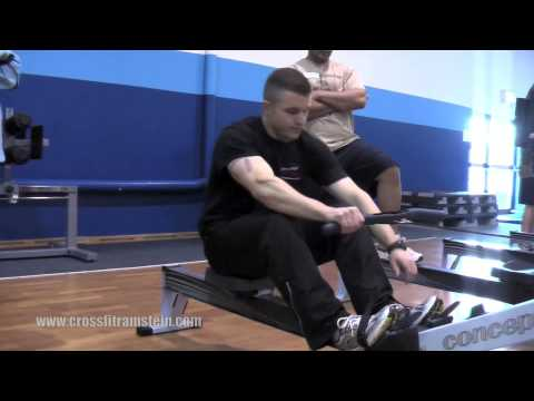 CrossFit Ramstein - Concept 2 Rowing Machine