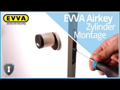 EVVA AirKey Zylinder-Montage Tutorial | Sicherheits-Schloss.de