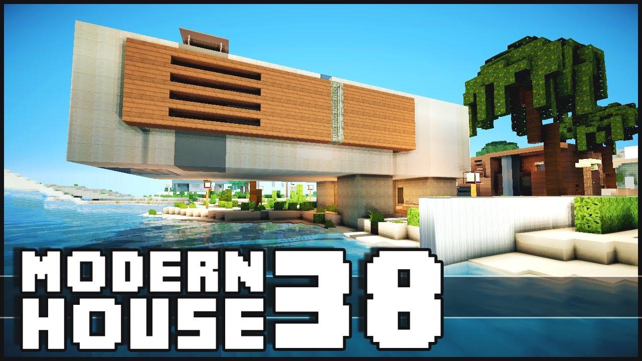 Minecraft Modern House 38 YouTube