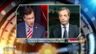 Nigel Farage - Barroso je idiot