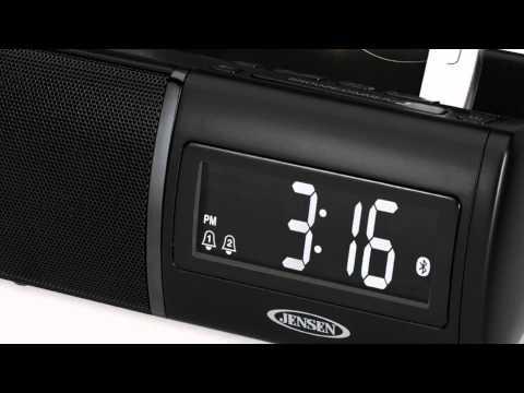 Jensen Universal Bluetooth Clock Radio JBD-100