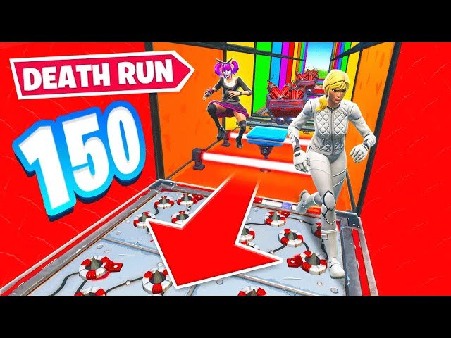 150 STAGE DEATH RUN *NEW* Game Mode in Fortnite Battle Royale