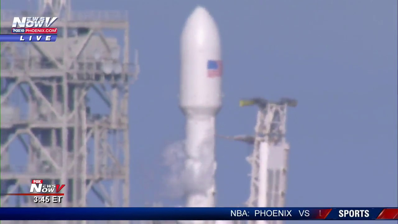 FNN: SpaceX Falcon Heavy rocket maiden launch
