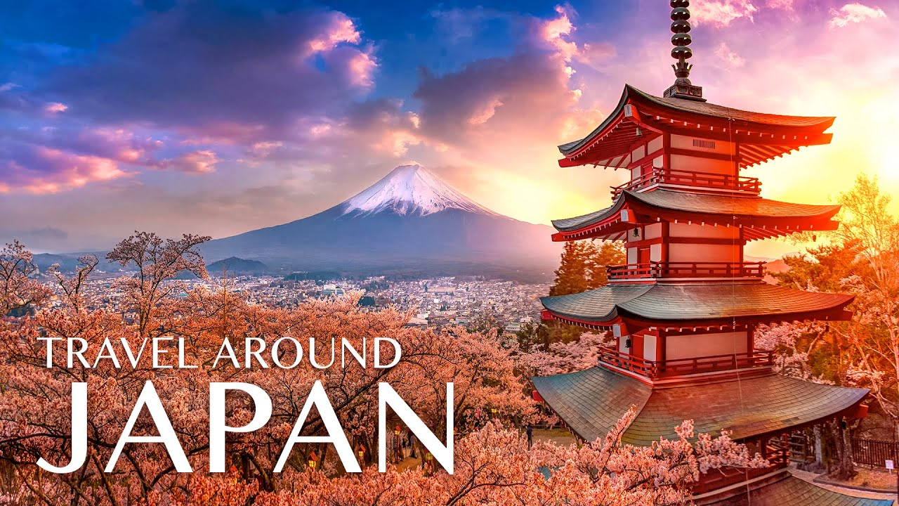 JAPAN Tour in 8K ULTRA HD - Travel to the Best Places in Japan with Relaxing Music 8K TV