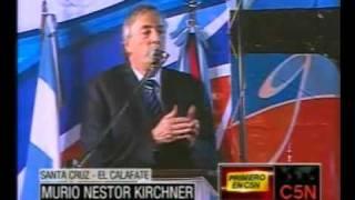 MURIO NESTOR KIRCHNE EL EXPRESIDENTE DE LA ARGENTINA