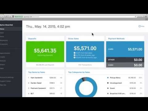 Navigating Your Square Dashboard - YouTube