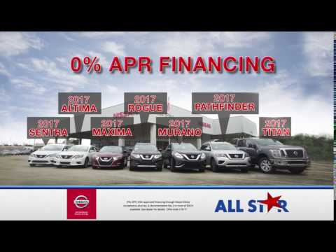 All Star Nissan - January 2017 Commercial - 0% APR Financing