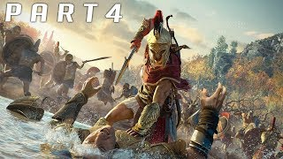 Assassin's Creed Odyssey Gameplay E3 - Conquest Battle, Destroying an Empire!