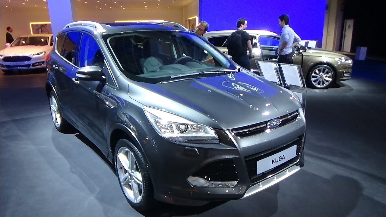 2016 ford kuga exterior and interior auto show. Black Bedroom Furniture Sets. Home Design Ideas
