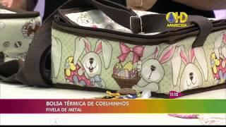 Bolsa Térmica de Coelhinhos – por Renata Herculano