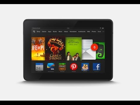 How to turn a kindle fire HD into an android tablet (NO ROOT) read info