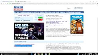 HOW TO DOWNLOAD ICE AGE COLLISION COURSE IN HD !!!