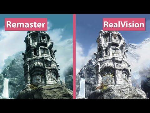 skyrim-–-special-edition-remaster-vs.-realvision-enb-mod-collection-trailer-graphics-comparison