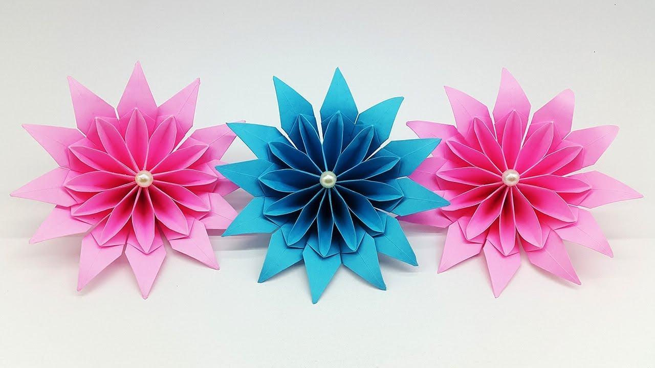 Magnificent paper flowers diy paper flower making tutorial youtube magnificent paper flowers diy paper flower making tutorial mightylinksfo