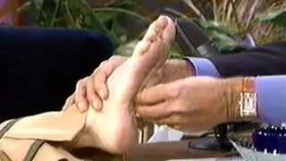 Heather Locklear feet / sole scene