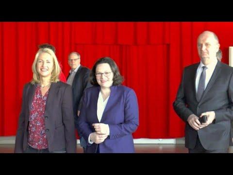 SPD-Spitze wirbt für die GroKo – und um Herzen der Ost-Genossen