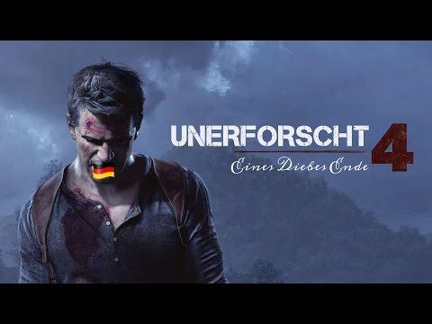 Uncharted 4: Nolan North spricht Nathan Drake auf deutsch!