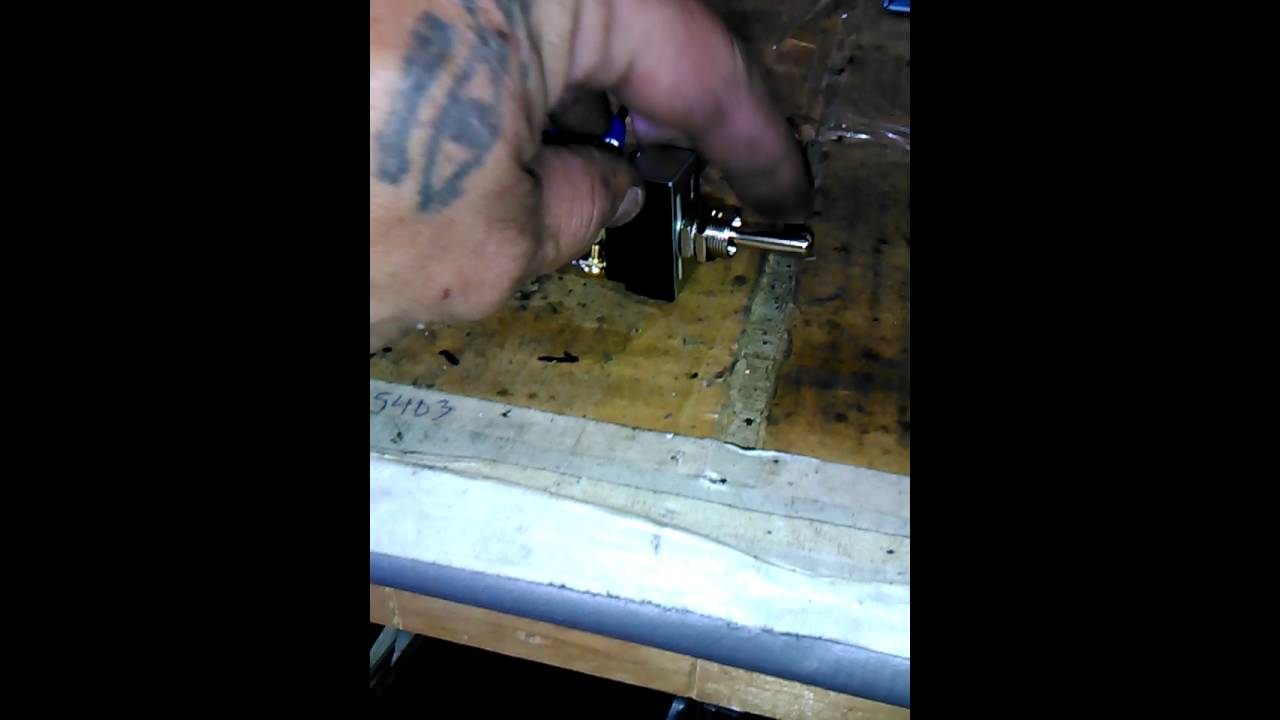 Double Pole Throw Toggle Switch Wiring Youtube Diagram On 3